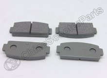 2 Pairs Rear Brake Pad For CFmoto CF moto 500 500CC 600CC 800CC Z5 Z6 Z8 U6 U8 ATV UTV Buggy 9060-081010(China)