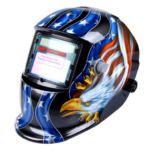 High Performance Welding Mask Solar Auto Darkening Welding Helmet cap Arc Tig Mig Grinding Eagle Welding &amp Soldering Supplies(China)