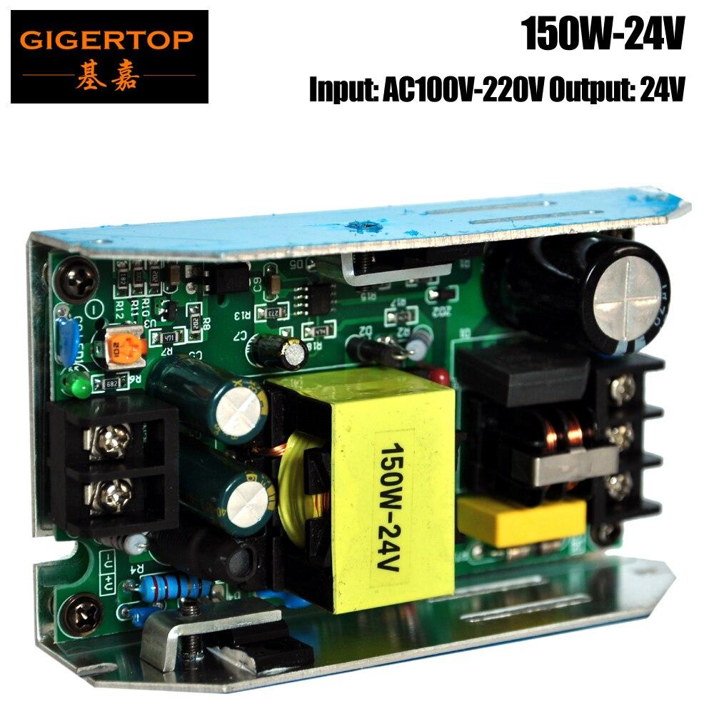TIPTOP 150W-24V RGB 54 3W Led Par Light Power Supply 12V/24V/36V Output Optional DMX Control for Stage Lighting 110V-220V<br>