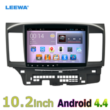 10inch Android 4.4 Quad Core Car Head Unit Player With GPS Navi Radio For Mitsubishi Lancer EX(2007-present CY2A-CZ4A) LHD #4681