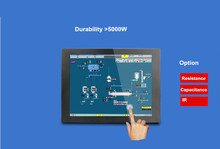 10.4 inch 800*600 embedded All-in-One computer Industrial Touch Screen Tablet PC 2G RAM 32G SSD monitoring production control PC