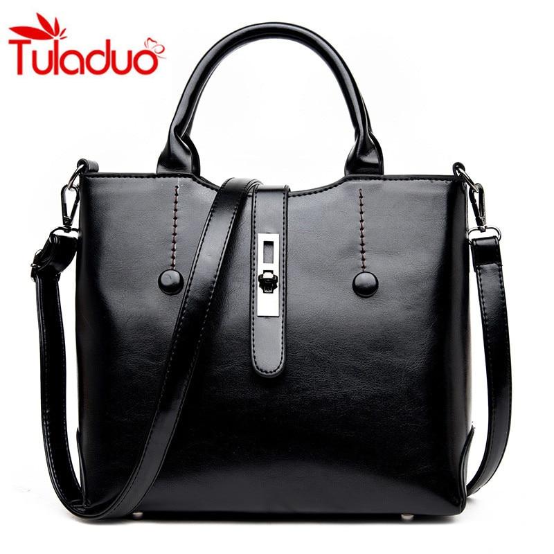 Women Bag 2017 New Handbags Retro Temperament Messenger Bag European and American Fashion Leisure Lock Shoulder Bags Sac a main<br><br>Aliexpress
