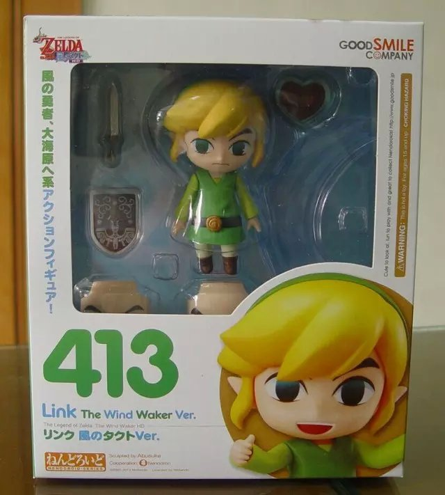 1 Pcs 10 CM Anime Nendoroid Game The Legend of Zelda Action Figure Link Set Boxed Kids Collectible Model Toy Doll For Boys<br>