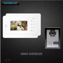 HOMSECUR 4.3inch Video Door Entry Security Intercom with One Button Unlock for Apartment(China)