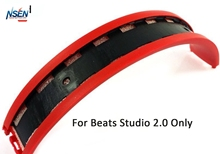 Replacement Rubber Top Headband Pad Cushions Repair Part for Beats Studio 2.0 Over Ear Headphones