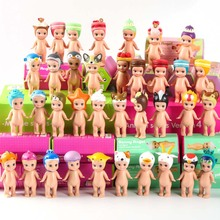 12pcs Sonny angel animals baby doll in boxes toy set 2017 New sonny angel mini figure kewpie kerst baby doll Christmas gift kids