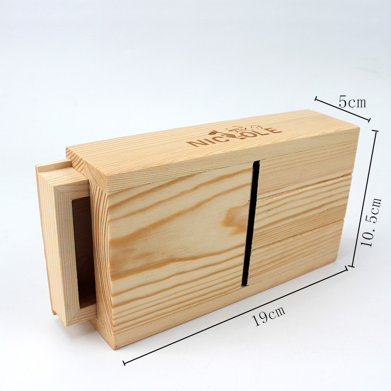 Image Hot Sale Nicole For DIY Handmade Loaf Soap Adjustable Wooden Soap Mold Loaf Cutter Rack