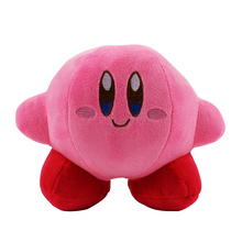 13cm Kirby Plush Toy Pink Kirby Game Character Soft Stuffed Doll(China)