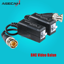 High quality BNC to UTP Cat5/5e/6 Video Balun HD Transceivers Adapter Transmitter Support 720P 1080P AHD CVI TVI Camera 200M