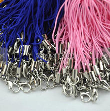 Newest Top Quality, 50 pcs Cell Phone Straps With Lobster Clasp Charm Wholesale Price