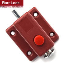 Rarelock Christmas Supplies 2pcs Latch Thumb Lock For Door Window Cabinet Box Cupboard Locker Home Bolt DIY Furniture Hardware g