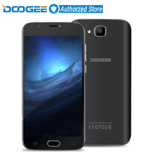 Doogee X9 mini 3G Mobile Phone 5.0 inch HD IPS MTK6580 Quad Core Android 6.0 1GB RAM 8GB ROM 5MP Camera Fingerprint ID Cellphone