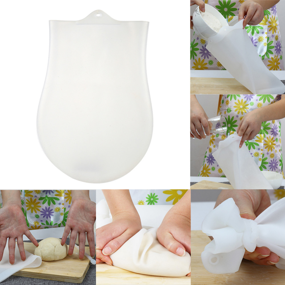 Silicone Kneading Dough Bags Flour Mixing Preservation Bag Kitchen Baking Tools