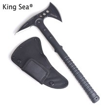 King Sea Tactical Axe Tomahawk Army Outdoor Hunting Camping Survival Machete Axes Hand Tool Fire Axe Hatchet Axe Ice Axe(China)