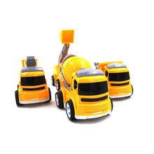 4Pcs/Set Kids Toy Car truck Scale Model truck children Toy Vehicles miniature truck plastic kids toys  car toys for children