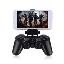 Wireless Controller Clip Clamp Stand Bracket for PS3/PS3 Slim Dualshock3 Gamepad Holder Joystick PS3 Controller Mount(China)