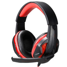 led Light Gaming big Earphone Gamer Casque Headphone with Microphone For Computer PC Player headset Skype phone