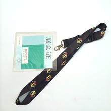custom made event LOGO printed lanyard employee lanyard conference neck strap