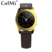 Colmi Smart Watch VS302 Wristwatch MP3 player Bluetooth speaker call SIM card slot Heart Rate Tracker sync Android phone PK KW88