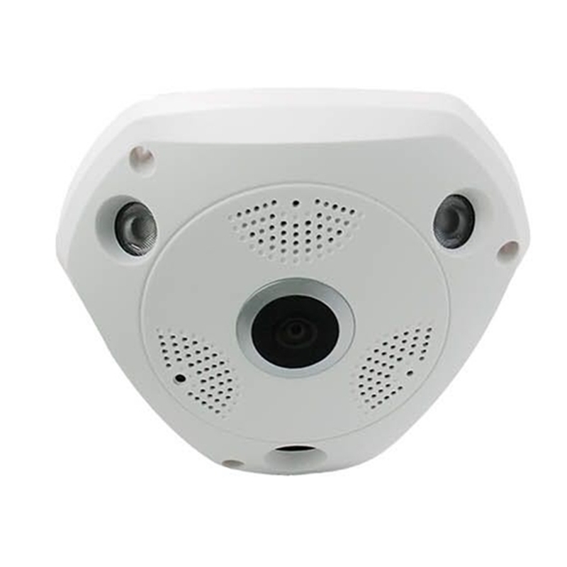 3D VR Camera 360 Degree Panoramic IP Camera 960P 1.3MP FIsheye WIreless Wi-fi Camera IP SD Card Slot Multi Viewing Mode<br>