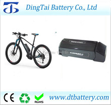 Free ship 24v 10ah 12ah 15ah ocean 2 new dolphin down tube ebike battery pack 24v 180w 200w 250w 350w motor battery(China)