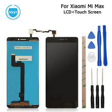 For XiaoMi MI MAX LCD Display+Touch Screen Screen Digitizer Assembly Replacement For XiaoMi MAX Cell Phone+Tools High Quality