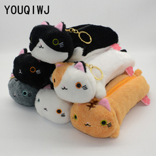 plush pencil case kawaii school supplies estuche escolar estuches para lapices box astuccio scuola cute pennen etui escolares(China)