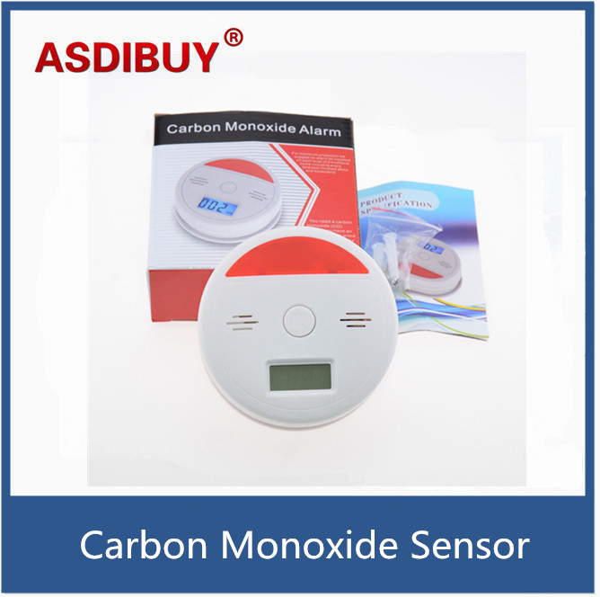 Smoke Alarm Permanent Carbon Monoxide Sensor Smoke Detector with 3 digits LCD display easy home use<br><br>Aliexpress