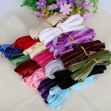 "5yard 3/8"" 10mm Mix colors Options Velvet Ribbon Velour Webbing Headband Band Accessories For Hair band"