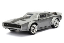 Jada 1:32 FAST AND FURIOUS F8 Dodge DOM'S Ice Charger Diecast Model Car Toy New In Box Free Shipping