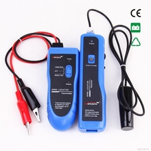 NF-816 Blue RJ11 RJ45 Cat5 Cat6 High power Underground Telephone Ethernet UTP FTP LAN Network Cable Wire Tracker Tester Finder(China)