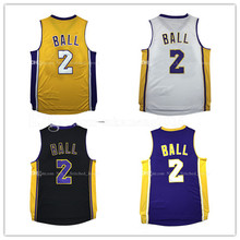 men's 2017 Draft  2 Lonzo Ball  Basketball Jersey 2017 New Men's UCLA  Ncaa college  Jerseys Embroidery and 100% Stitched