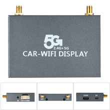 1080P 5G/2.4G Car WiFi Display Dongle Airplay Mirroring Miracast DLNA Airsharing HDMI TV Receiver for HDTV Smart Phones Notebook