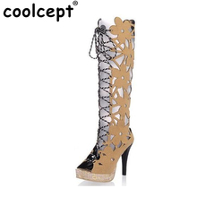 women HOT SALE 2012 NS007 high quallity hight cut peep toes lady casual shoes women's sexy high heel sandals size 31-43