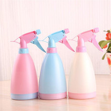 Cute Multi-function Candy Color Watering Cans Bonsai Hand Pressure Sprayer Spray Bottle Watering Gardening Tool Pot Home Garden