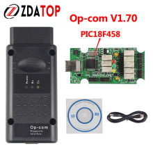 ZOLIZDA Opcom 2017 For OPEL OPCOM V1.70 Version Diagnostic Tool OPCOM OP-COM OBD2 Can BUS Interface With PIC18F458 Factory Price