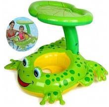INTEX 56582 baby swim ring plastic frog starfish whale floating ring baby seat baby seat ring water(China)
