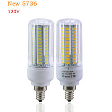 LED Light LED Bulb E27 E17 E12 110V 5736 SMD 3W - 15W Lampada LED Lamps the LEDs for Home Lighting for Chandelier Lighting(China)