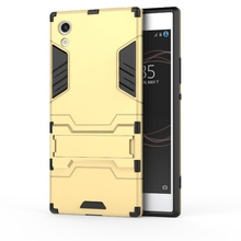 "Buy Sony Xperia XA1 5.0"" Case Shockproof Robot Armor Hybrid Rubber Silicone Cover Slim Hard Back Phone Case Sony Xperia XA1 for $2.99 in AliExpress store"