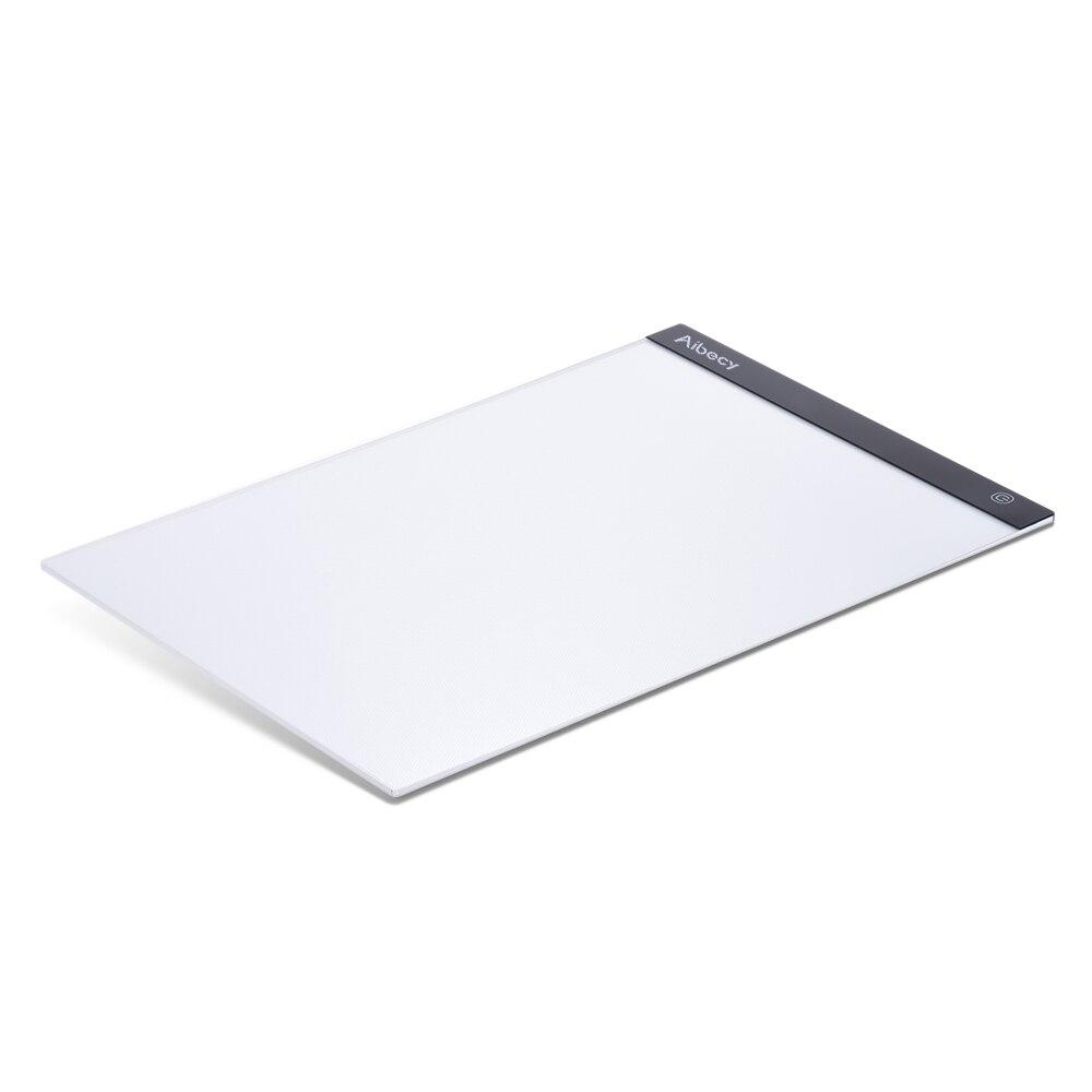 Caja de luz pr/áctica y Liviana para Pintar Interfaz USB acr/ílico para proyectos artesanales Hemming Tablero de Dibujo A3-J