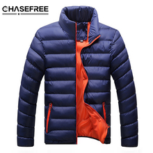2017 Brand bomber Jacket Mens High Quality Autumn Winter Keep Warm Thick Parka Men Casual Outwear Thick Down Male Jacket Coat(China)