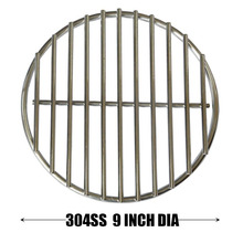 Hisencn 7430 304 Stainless Steel High Heat Charcoal Fire Grate for Large and Minimax Big Green Egg Grill (9-inches) 22.86CM(China)