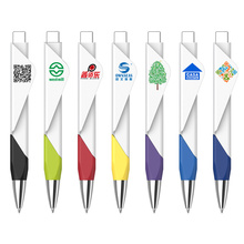 500 pcs/lot big square QR code engraving logo promotional pen