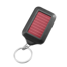 Multi Tool Solar Energy Light 3 LED Electric Torch With Keychain Mini LED Lantern Lighting Outdoor Tools(China)