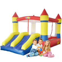 YARD Bounce House Dual Slide Mini Bouncy Castle for Kids Inflatable Jumpers Special Offer for Hot Zone