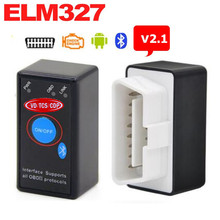ELM327 Bluetooth V2.1 with Power Switch ODB2 ODBII OBD II ELM 327 Bluetooth Tester Car Auto Diagnostic Scan Tool Torque Android(China)