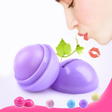 24pcs/lot Wholesale Portable Smooth Sphere Lip Balm 6 Colors Moisturizing Lip Pomade For Lip Nutritious Girl Essencial Lip Balm(China)