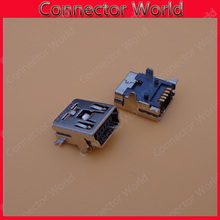 20pcs/lot Mini USB connector, Micro USB connector is widely used in a variety of for MP3 MP4 MP5 Tablet PC Netbook eBook