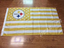 3x5ft Pittsburgh Steelers football flag American flag 90x150cm printing digital sports goods