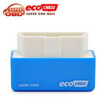 Plug and Drive EcoOBD2 2016 new arrival Economy Chip Tuning Box for Diesel Cars 15% Fuel Save OBD II
